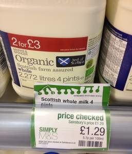 Milk: don't drink me please:(